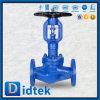 Válvula de globo larga del sello del bramido de servicio de Didtek del volante de dirección largo de la vida
