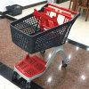 Тип китайского поставщика новый складывая польностью пластичную магазинную тележкау