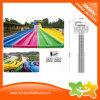 Пробки скольжения воды радуги крупного плана напольные пластичные для малышей и взрослых