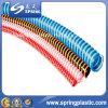 Boyau coloré flexible d'aspiration d'helice de PVC