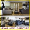 L'ingresso moderno dell'hotel ha annunciato il sofà di svago dell'ottomano del cuoio del tessuto della mobilia