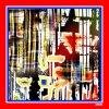 Écharpes en soie faites sur commande de l'impression 100% de Digitals (F13-0020)