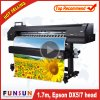 Migliore stampatrice di ampio formato di Funsunjet Fs-1700k 1.7m di prezzi con una Dx5 testa Dpi 1440 per stampa delle bandiere della flessione