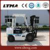 Mini carrello elevatore di tonnellata GPL del carrello elevatore 1.5 della benzina