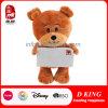 De mooie Gift van de Valentijnskaart voor het Gevulde Stuk speelgoed van de Teddybeer van Meisjes Pluche