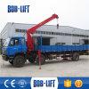 L'usine vendent directement la grue de camion de camions utilisée mini par grue