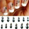 Стикер ногтя стикеров искусствоа ногтя переноса воды картины пера павлина