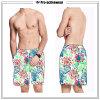 Gli uomini di Shorts della scheda del Mens di festa nuotano bruscamente
