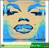 De Levering van de bar, het Beeld die van het Metaal van Marilyn Monroe, een Sexy Vrouw c118-2 schilderen