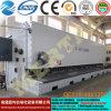 Машина 12*9000mm выдвиженческой плиты гильотины механического инструмента CNC гидровлической режа