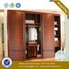 Guardarropa brillante de la puerta deslizante de los muebles del dormitorio (HX-LC2030)