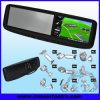 moniteur de navigation du Rearview GPS de la voiture 4.3 avec Bluetooth, émetteur de FM, USB, écart-type, écran tactile (RVG430RB)