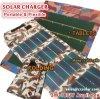 QG eficiente super da oferta do fabricante que dobra o carregador solar do telefone com o painel solar das pilhas as mais atrasadas