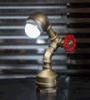 Lámpara de escritorio retra de la nueva del diseño de la venta al por mayor 2016 de la lámpara de escritorio del desván de escritorio de la lámpara lámpara de la luz de una vela