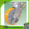 Doppelte Hochleistungsbremsen-industrielle Schwenker-Fußrolle