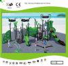 Установленная спортивная площадка среднего размера цветастых детей Kaiqi напольная (KQ30031A)
