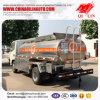De Bijtankende Tankwagen van de Olie van Rhd van Dongfeng 4X2 met de Pomp van de Olie