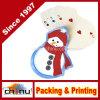 Cartes de jeu Shaped de bonhomme de neige mini (430170)