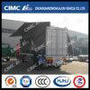 Cimc Huajun Van/Box Semi Trailer mit Hydraulic Wingspan