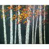 Árbol de alta calidad de arte moderno paisaje Pintura al Óleo de la decoración-100000 (izq.)