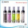 2.4ml E 담배 Cartomizer 의 명확한 분무기, Clearomizer (T2)