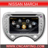 Speciale Car DVD Player voor Nissan Maart met GPS, Bluetooth. met A8 Chipset Dual Core 1080P v-20 Disc WiFi 3G Internet (CY-C070)