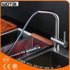 Robinet d'eau de finition balayé d'évier de cuisine du nickel PVD