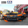 Barco de borracha marinho aprovado de CCS inflável para 50 povos