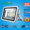Luz de inundación impermeable de Bridgelux IP65 LED de la alta del lumen LED de la luz de inundación del precio de fábrica LED de inundación de la luz MAZORCA al aire libre de la iluminación SMD para
