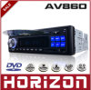AV860 Scan Radio AM / FM, reproductor de DVD Video, compatible con MP4, compatible con SD, compatible con USB, discos de vídeo digital, de alta potencia 40wx4 Reproductor de audio para autos
