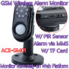 Smart Photo MMS alarme câmera GSM Wireless Home Security Vigilância PIR Anti-assaltante Monitor de W / Rastreamento On-line