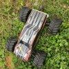 1/10 электрических моделей автомобиля хоббиа RC тела раковины вагонного лака металла