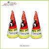 3  konische Partei Popper Spielzeug-Feuerwerke