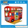 Macchina del gioco della galleria dell'automobile di bambino dell'automobile dell'oscillazione di giro del Kiddie del bus di Londra da vendere