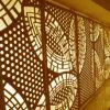 Folhas de alumínio decorativas com padrões entalhada para decoração especial