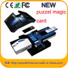 USB Puzzle Paper Card с Branding Custom Logo For Business Git