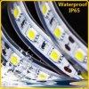 IP65 impermeabilizan la tira flexible del LED con el certificado de la UL