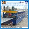 780 Canelado galvanizado utilizado telhado de aço máquina de corte de tomada de folhas