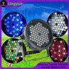 Indicatore luminoso esterno della fase della discoteca del DJ di PARITÀ 64 di DMX LED