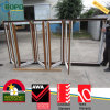 Wood Like Rehau / Veka PVC Profile Bifold / Janela deslizante dobrável