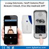 Teléfono video sin hilos cifrado telclados numéricos teledirigidos de la puerta del IP de WiFi del acceso del APP de la seguridad casera