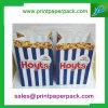 색깔에 의하여 인쇄되는 Kraft 편평한 구획 바닥 종이 봉지 당 점심 선물 부대