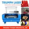 Prezzo acrilico di legno di carta della tagliatrice del laser del cuoio della taglierina 80W 100W 150W del laser del compensato