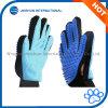 Het Verzorgen van het huisdier Hulpmiddelen, Deshedding, het Vlekkenmiddel van het Haar/van het Bont, Twee Types van Handschoenen