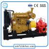 Faça duplo de alta qualidade de sucção da bomba de combate a incêndio com motor diesel