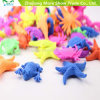 Hot Sale Cartoon Water Growing Toys Ocean Baby Expanding Animals Toys