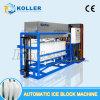 Создатель машины блока льда Koller 2ton, съестной льдед блока, потребление Hunman