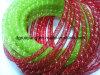8mm verde manzana Deco tubo flexible metálico de malla para proyectos Craft