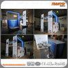 Cabina de aluminio de la feria profesional de la materia textil portable