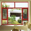 Aluminium-/Aluminiumflügelfenster-Fenster mit Bruch-Brücke (FT-W108)